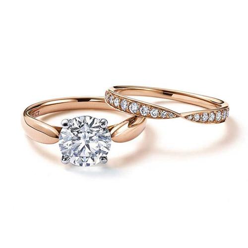Tiffany eljegyzési gyűrű pár