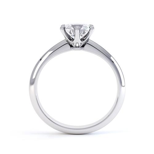 Tiffany stílusú szoliter gyűrű